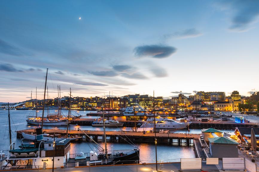 Lētas aviobiļetes uz Oslo