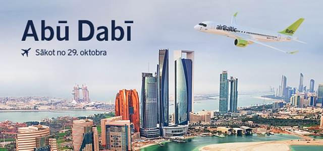 airbaltic uz Abū Dabī