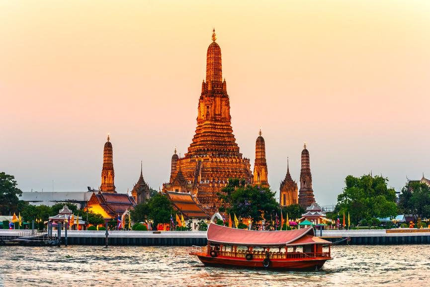 Lētas aviobiļetes uz Āziju, Bangkoku