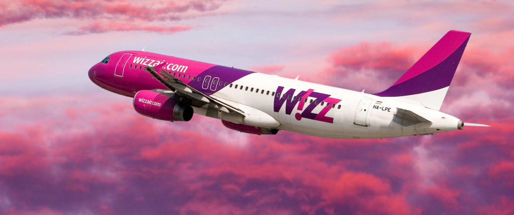wizzair lidmašina