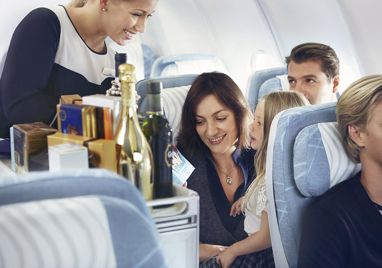 Finnair ekonomiskā klase