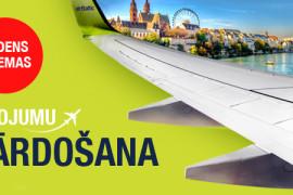 airBaltic rudens izpārdošana